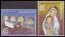 ハンガリーの切手・クリスマス・天使・2010(2)