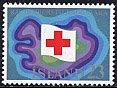 アイスランドの切手・赤十字50年・1975