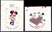 日本・ディズニーより、ケーキとクッキー・2012(2)セルフ糊