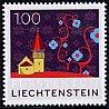 リヒテンシュタインの切手・教会・2008