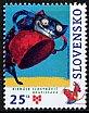 スロバキアの切手・ブラスティスラバ・絵本原画展・2007