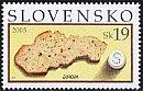スロバキアの切手・ヨーロッパ・食・2005