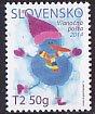 スロバキア・クリスマス・雪だるま・2014