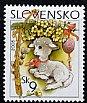 スロバキアの切手・イースター・2005