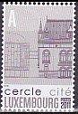 ルクセンブルグの切手・サークルシティ・2011
