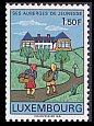 ルクセンブルグの切手・ユースホステル・1967