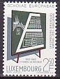 ルクセンブルクの切手・ヨーロピアンスクール・1963