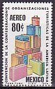 メキシコの切手・観光団体会議・1974