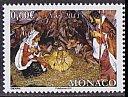 モナコの切手・クリスマス・2011