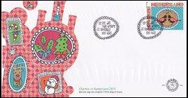 オランダ・12月切手・2011・FDC