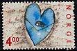 ノルウェーの切手・バレンタイン・2000