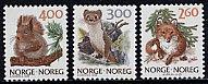 ノルウェー・自然・切手・1989(3)