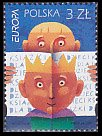 ポーランド・ヨーロッパ切手・児童書・2010