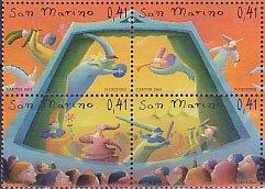 サンマリノの切手・人形劇・2003(4)