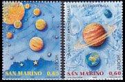サンマリノの切手・ヨーロッパ・天文・2009(2)