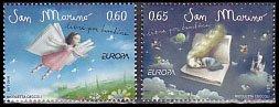サンマリノの切手・ヨーロッパ・児童書・2010(2)