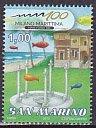 サンマリノの切手・ミラノ・マリッティマ・100年・2012