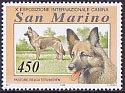 サンマリノの切手・ベルジアンタービュレン・1994