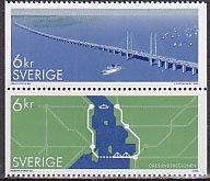 スウェーデンの切手・エレーソン橋・2000(2)