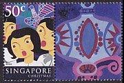 シンガポールの切手・クリスマス・2004