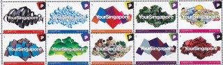 シンガポール・グリーティング・切手・2011(10)