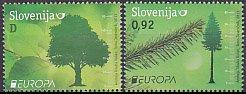 スロベニア・ヨーロッパ・森林・切手・2011(2)