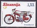 スロベニア・オートバイ・切手・2011