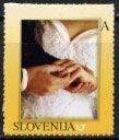 スロベニア・結婚・切手・2006(セルフ糊)