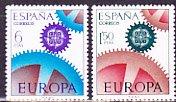 スペインの切手・ヨーロッパ・1967(2)
