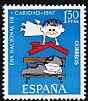 スペインの切手・慈善の日・1967