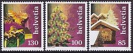スイスの切手・クリスマス・2007(3)