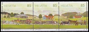 スイス・アルプスの牧場・切手・2009(3)