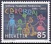 スイス・脳協会50年・切手・2011