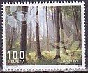 スイス・ヨーロッパ・森林・切手・2011