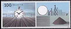 スイス・アート・切手・2012(セルフ糊)