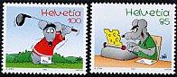 スイス・コミック・切手・2005(2)