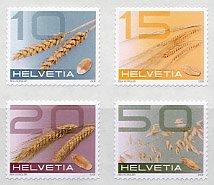 スイス・普通切手・穀物・切手・2008(4)セルフ糊