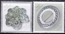スイス・装身具・切手・2015(2)
