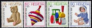 スイス・児童福祉切手・1986(4)