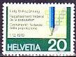 スイスの切手・国政調査・1970