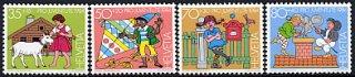 スイスの切手・児童福祉・1984(4)