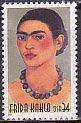 USAの切手・フリーダ・カーロ・2001