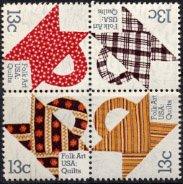 USA・キルトのバッグ・切手・1978(4)
