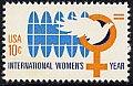 アメリカの切手・国際女性年・1975