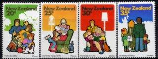 ニュージーランド・家族・切手・1981(4)