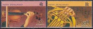 ニュージーランドの切手・シンフォニー(2)