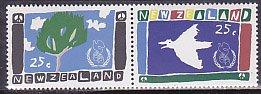 ニュージーランドの切手・国際平和年・1986(2)