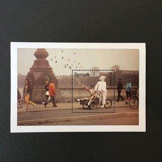 デンマーク・ヨーロッパ観光・小型シート切手・2012