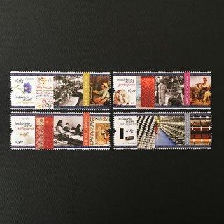 ポルトガル・テキスタイル産業・切手・2017(4)