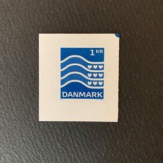デンマークの切手・普通波線・2019